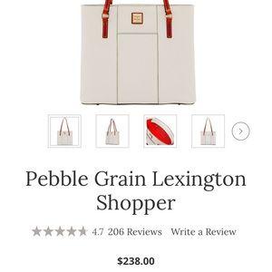 Dooney & Bourke Bags - Dooney & Burke Pebble Grain Lexington Shopper